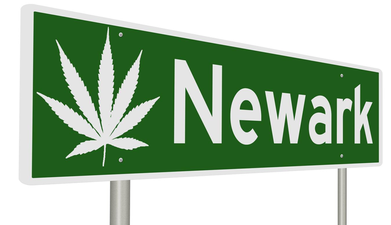 Newark, NJ Cannabis Sign